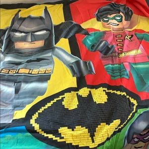Lego Batman Duvet and Sham for twin bed